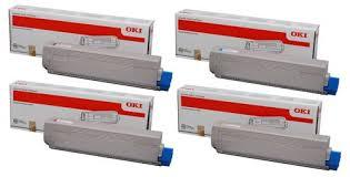 Hộp mực sử dụng cho Máy in laser màu A3 Oki C833n