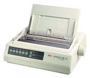 Nạp mực máy in OKI ML320T PLUS